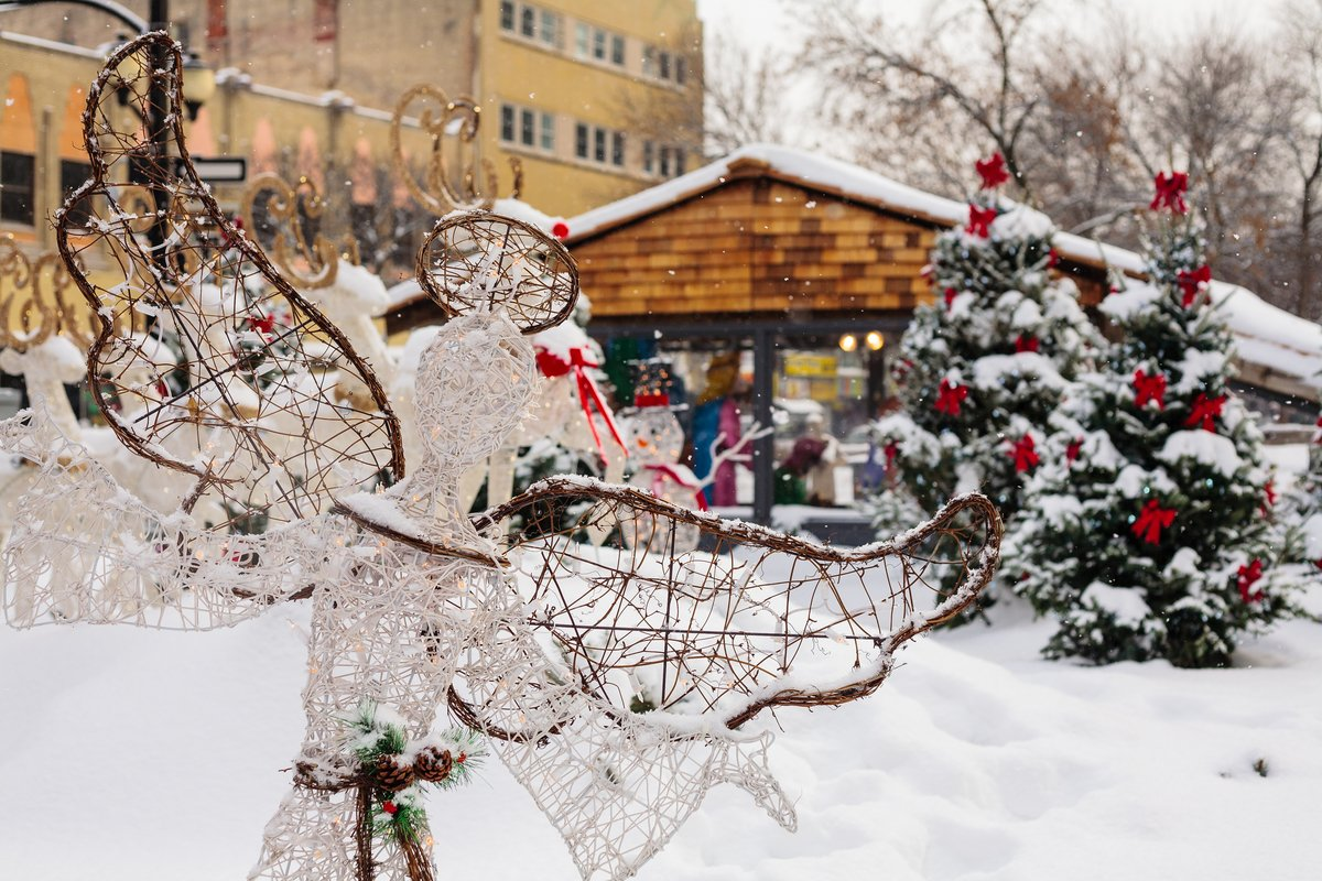 Gore park at Christmas