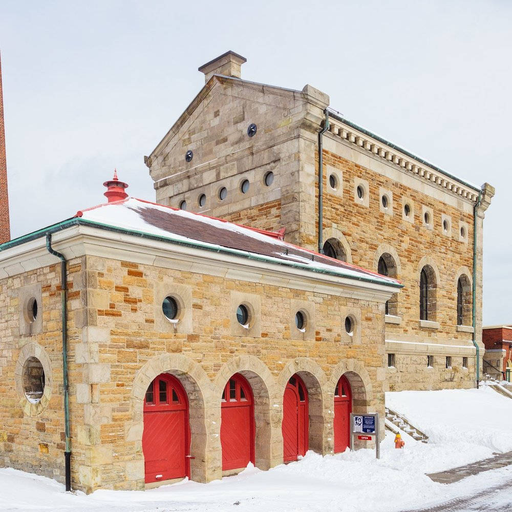 museum of steam and technology exterior