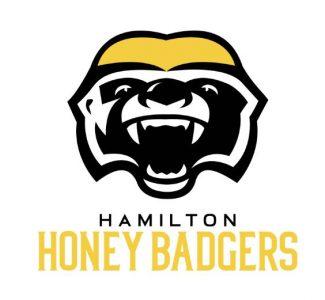 Honey badgers logo