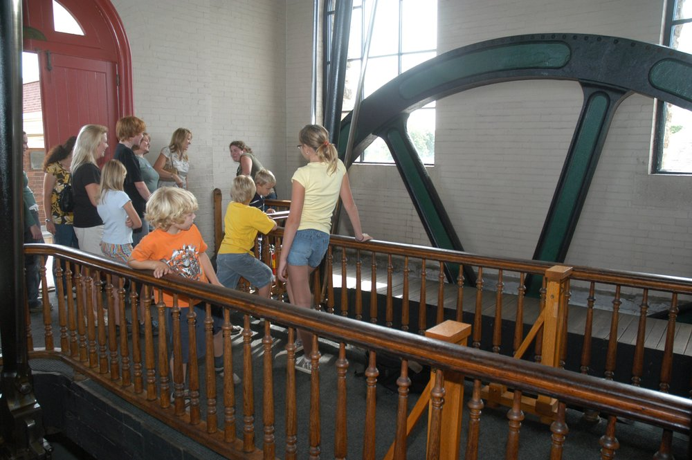 Steam museum tour