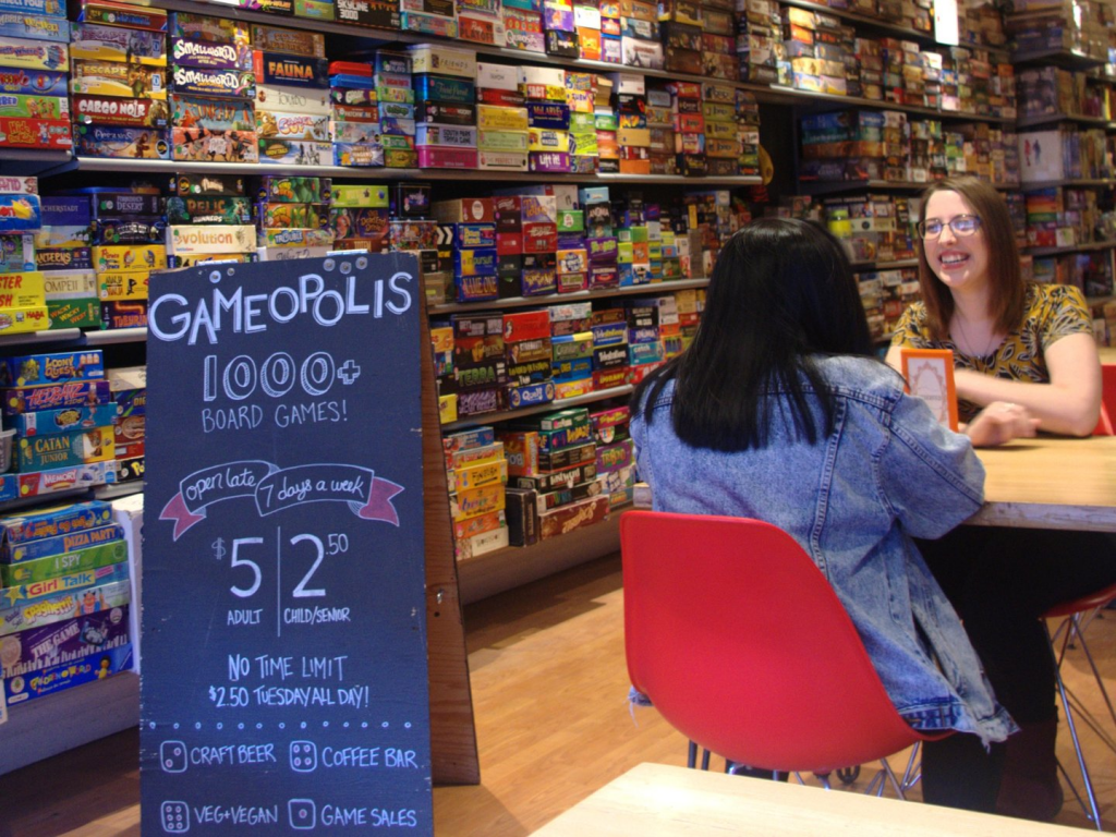 Gameopolis board games