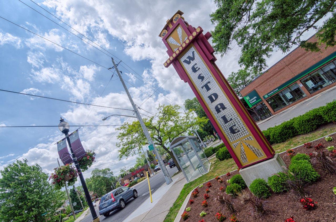Westdale sign