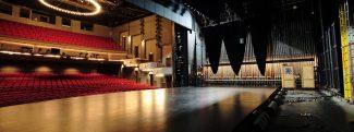 Back stage at Theatre Aquarius