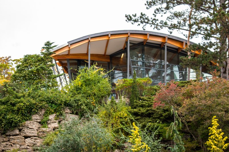 Visitor Centre at the Rock Garden