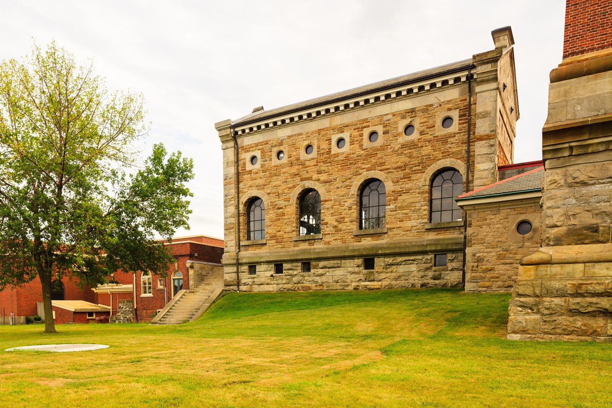 Steam museum exterior