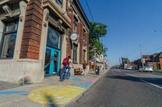 Barton streetscape