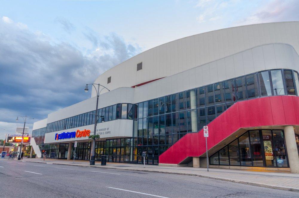 FirstOntario Centre exterior