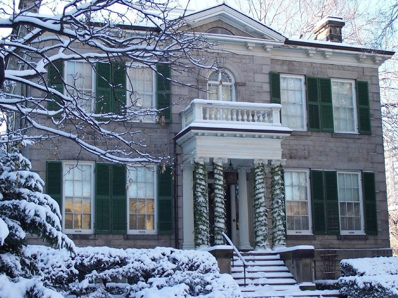 Whitehern in winter