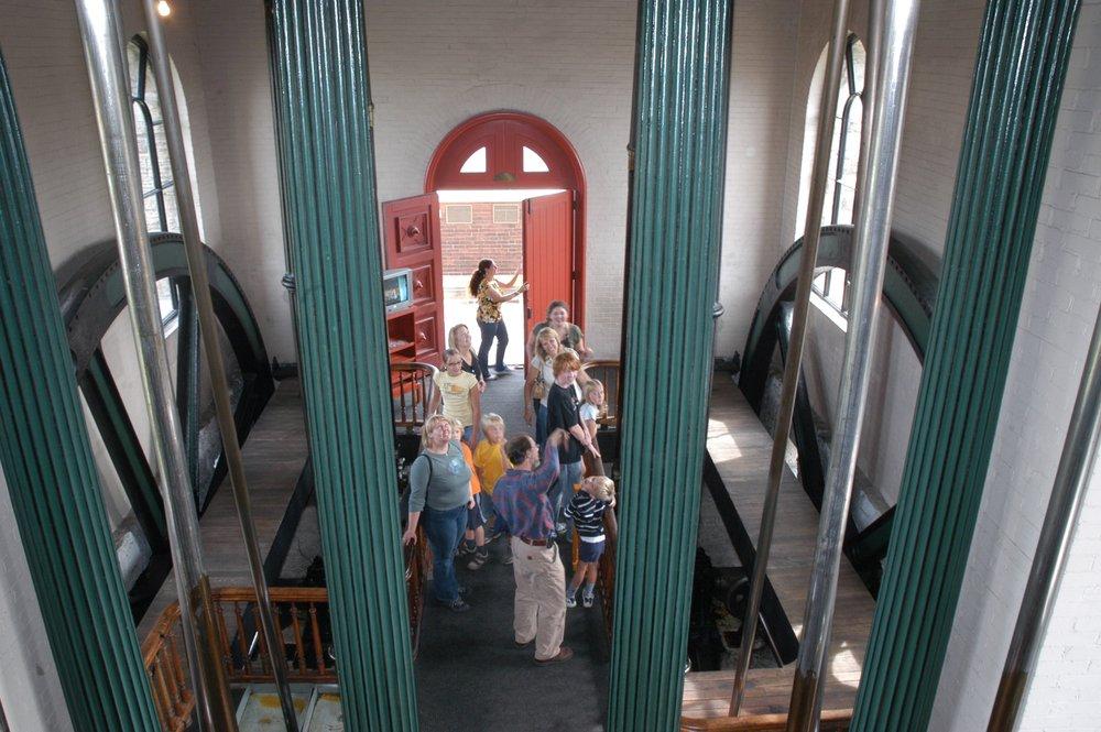 Steam museum tour