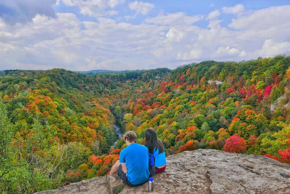 Dundas Peak fall colors