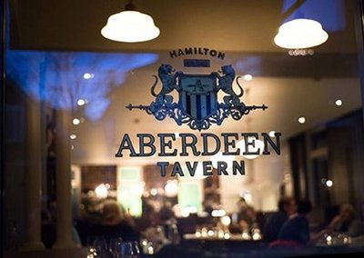 Aberdeen Tavern sign