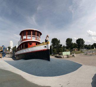 Bayfront Park tug boat