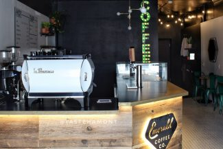 Emerald Coffee counter