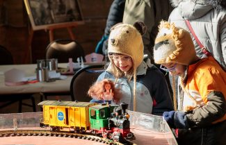 Family Day Trains at Steam Museum