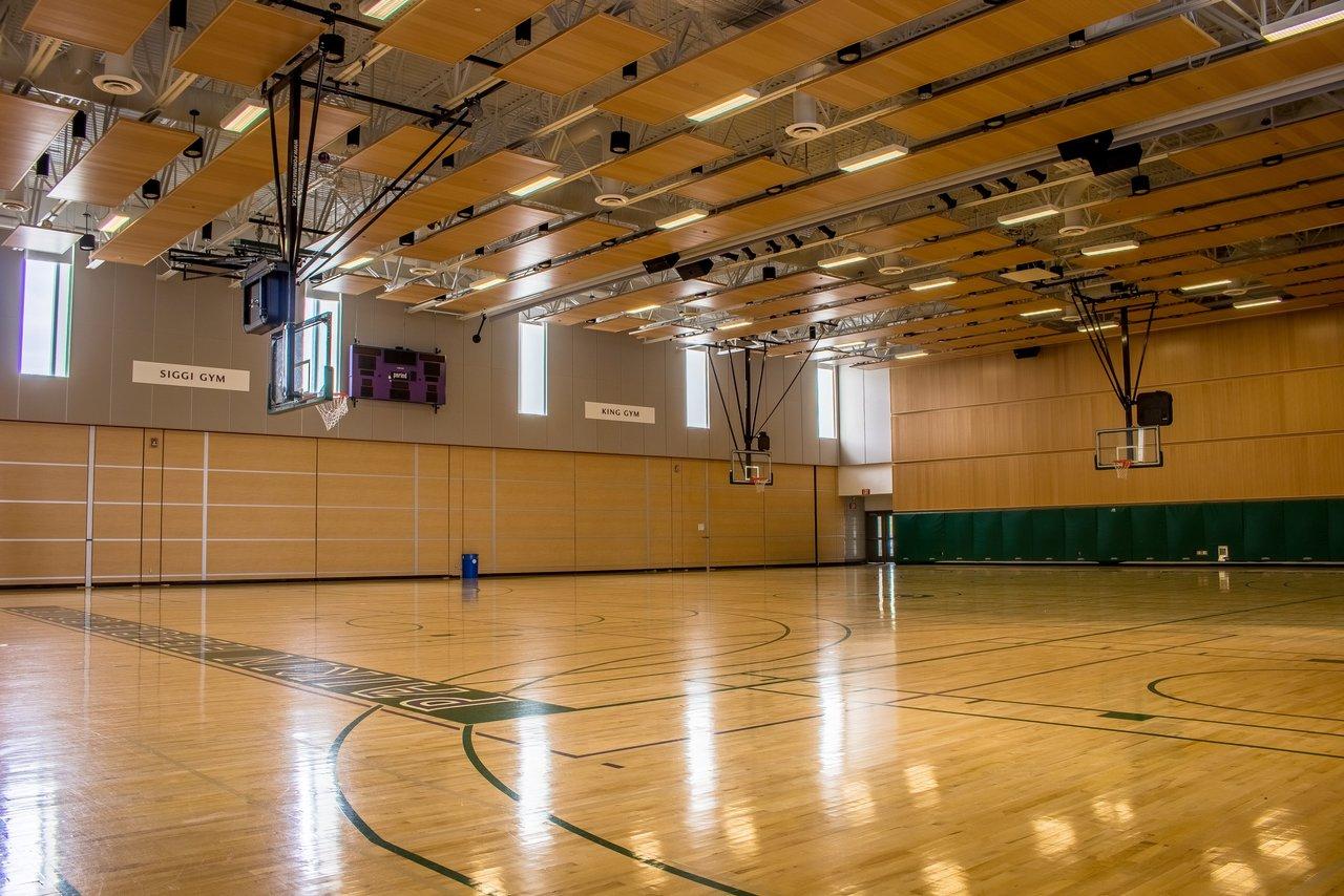 Hillfield Strathallen basketball court