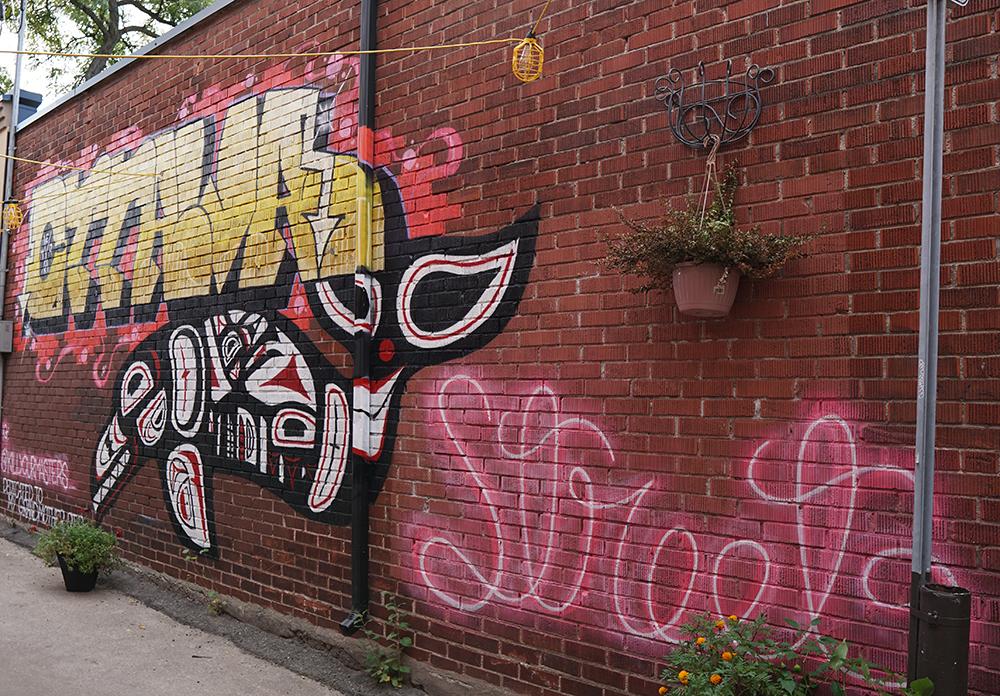 Ottawa orca mural