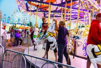 Rockton fair merry-go-round