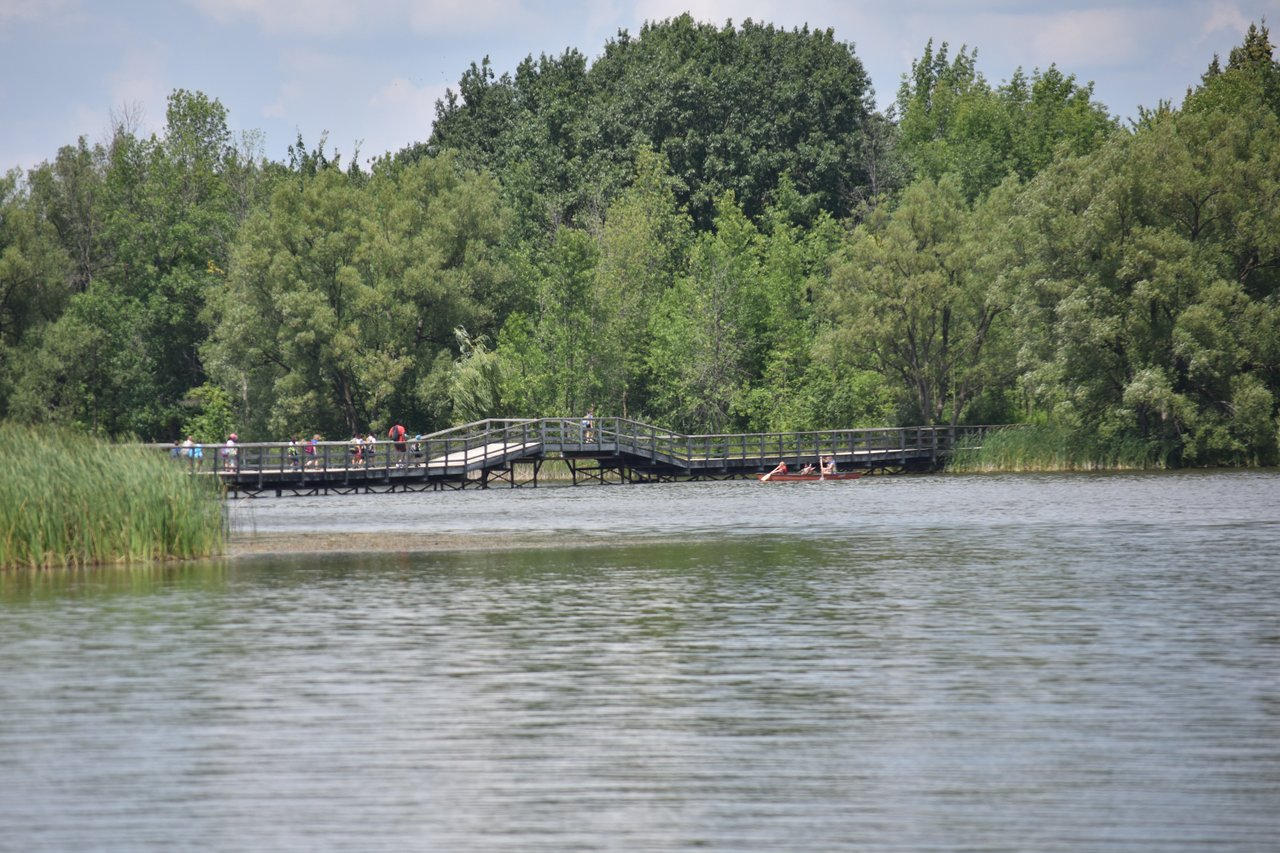 Valens Lake fishing bridge