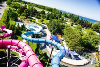 Wild Waterworks Centennial Park water slide