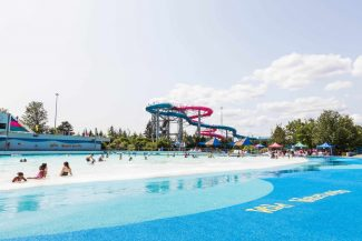 Wild Waterworks wave pool