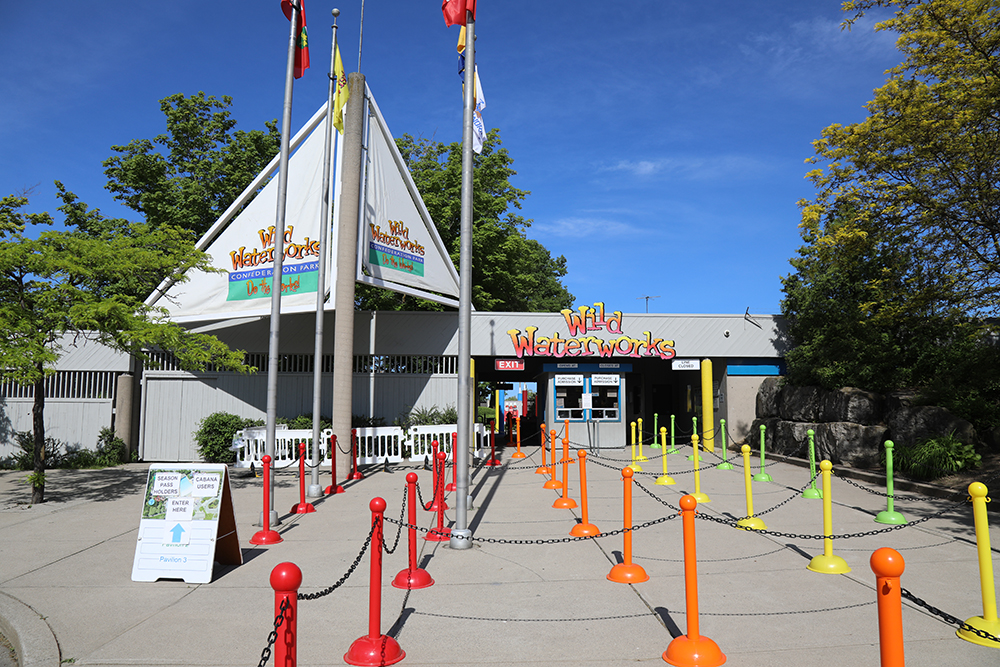Wild Waterworks entrance