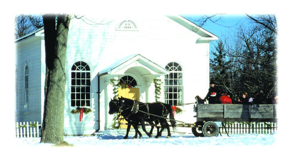 Westfield Heritage in winter