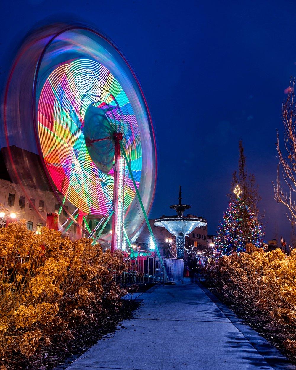 Ferris Wheel in Gore Park