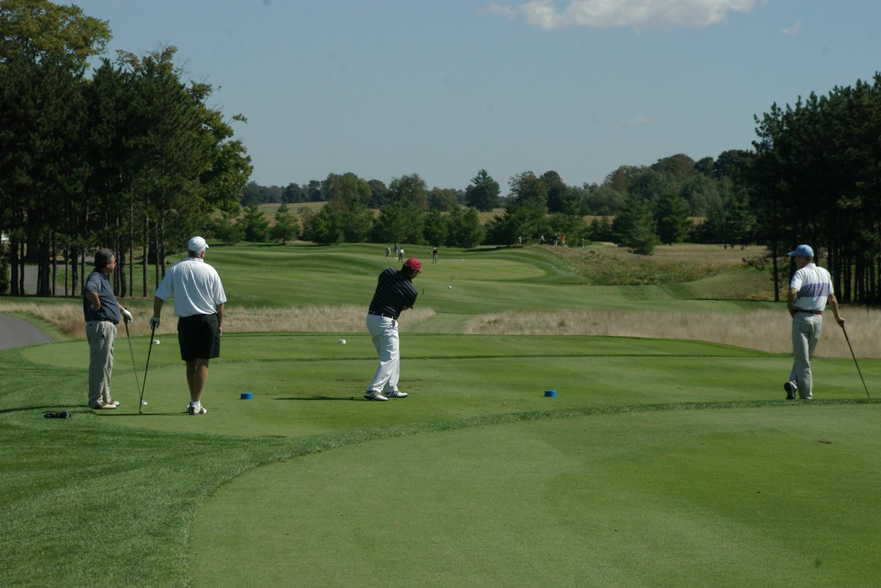 Copetown Woods golfers