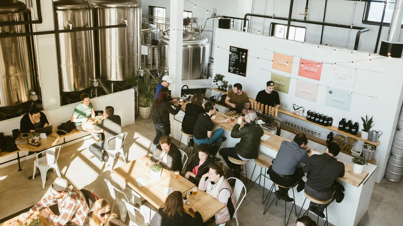 Grain and grit taproom