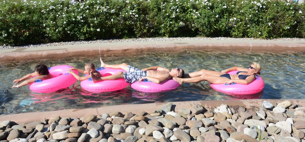 Family in Lazy River