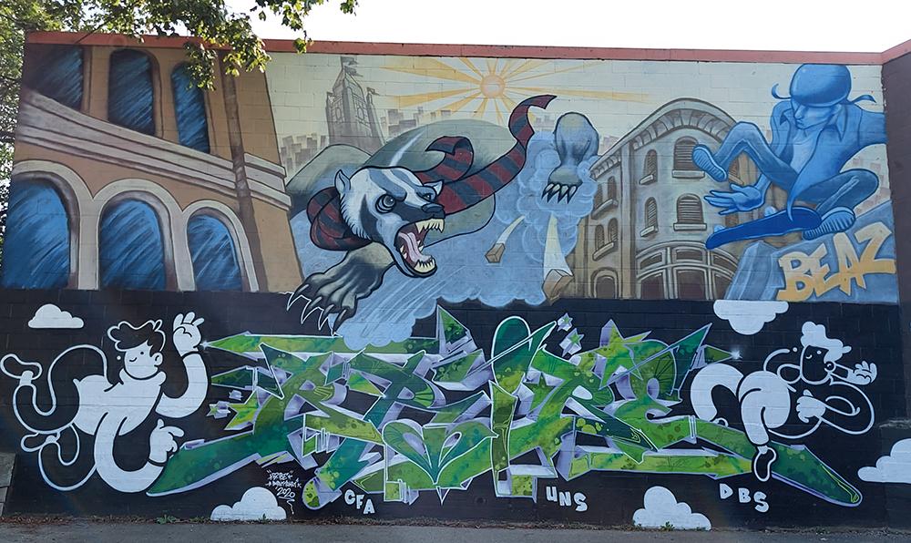 Beasley Badger Mural