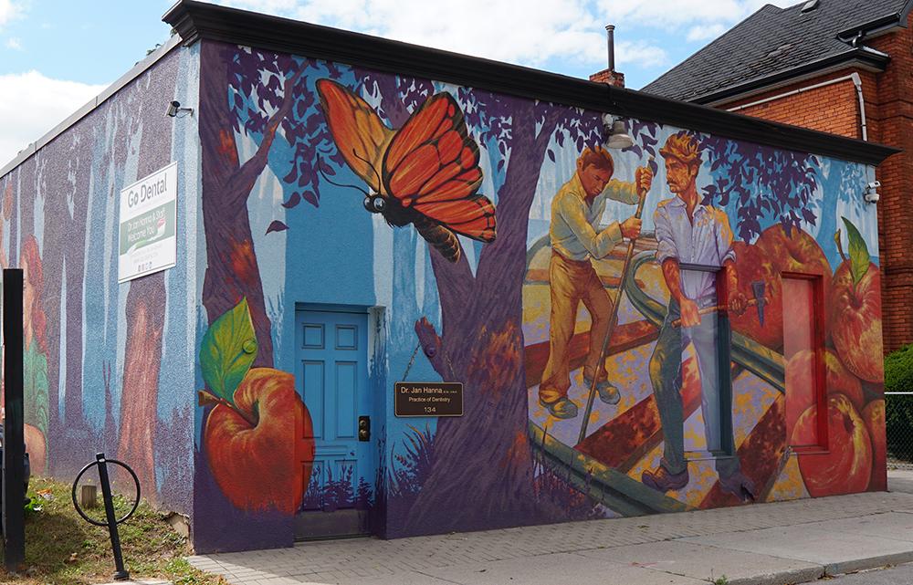Corktown Mural
