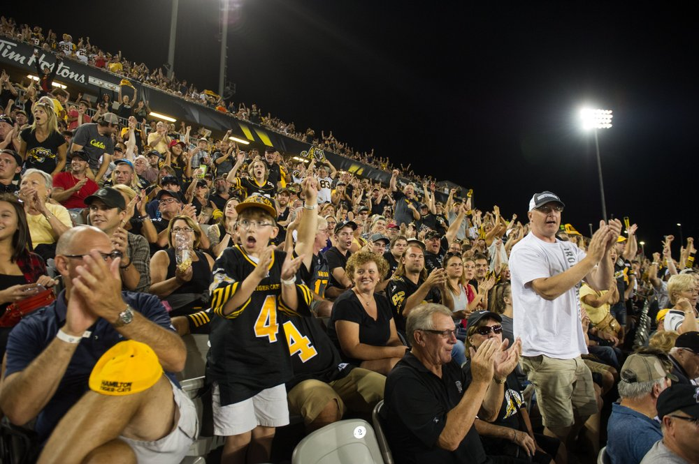 Ticats fans in the stands