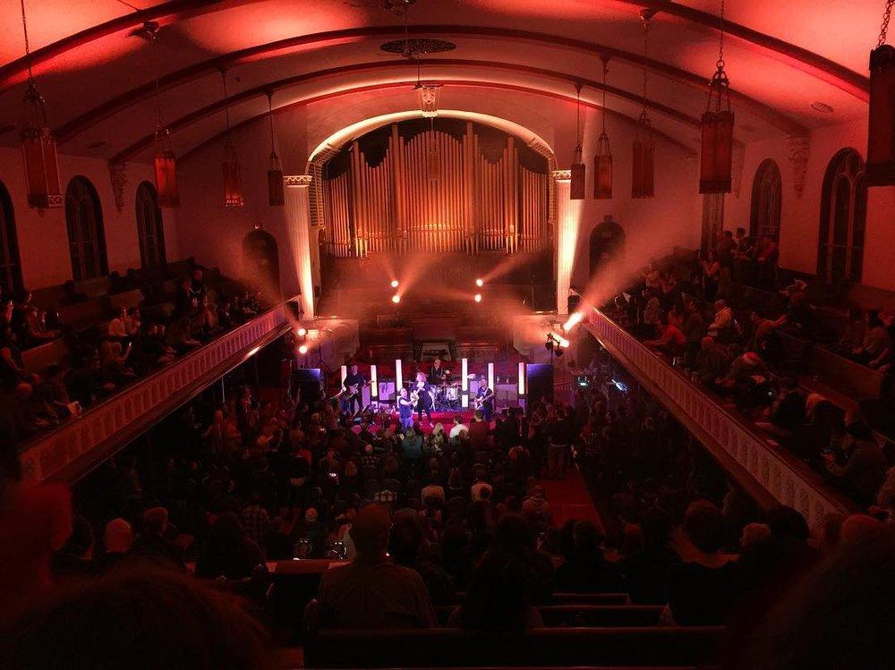 New Vision music hall
