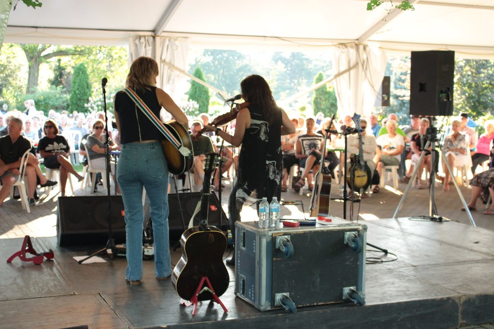 Musicians at RBG