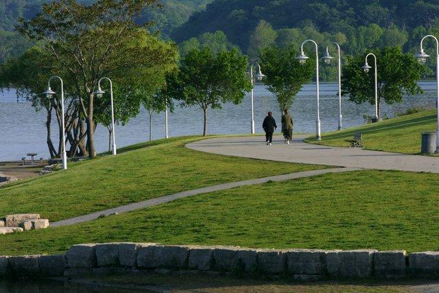 Bayfront park path