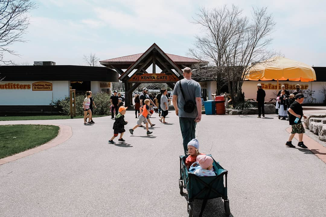 True North Family - African Lion Safari Entrance