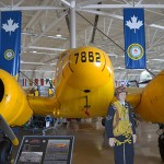 Canadian Warplane Heritage Museum inside