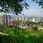 City Scene from Escarpment