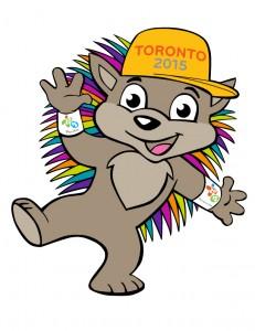 Toronto 2015 Mascot - Pachi