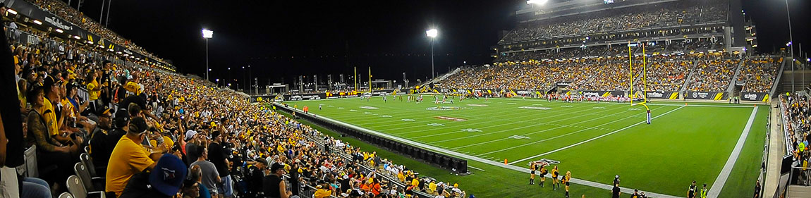 Tim Hortons Field night game