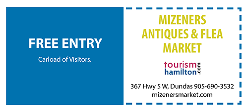 Mizeners Antiques & Flea Market Free Entry
