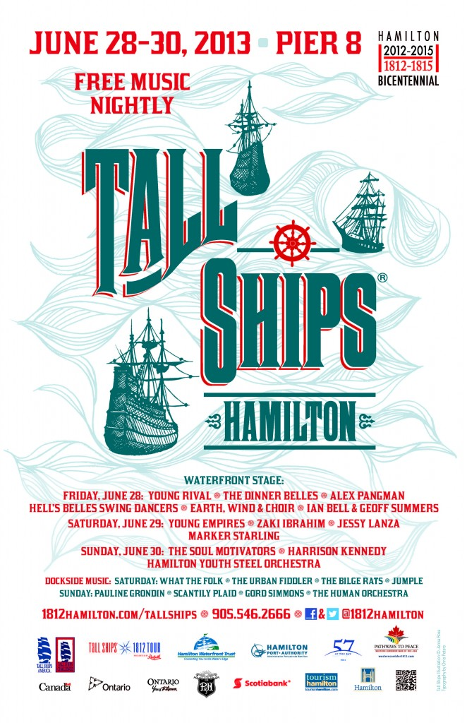 Tall Ships Music Poster