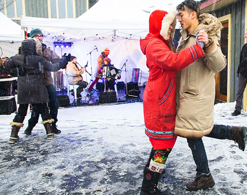 Dancers at Winterfest