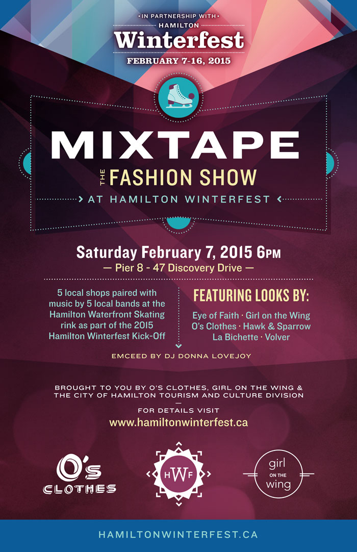 Fashion Show Music Mix 2015 on a rinkside fashion show