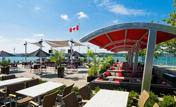 a guide to outdoor patio dining in hamilton. Black Bedroom Furniture Sets. Home Design Ideas