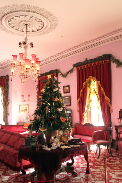 Christmas at museum
