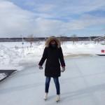 Pier 8 skating - Tara Nolan