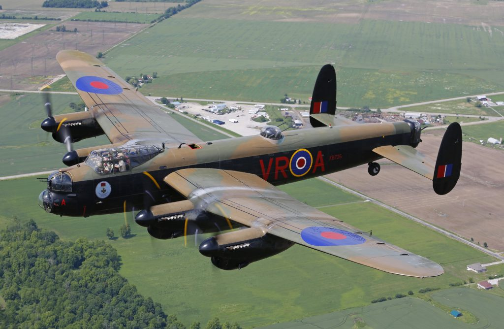 Canadian Warplane - Avro Lancaster - best things to do in hamilton