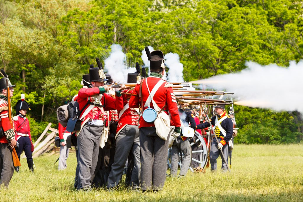 Battle of Stoney Creek reenactment